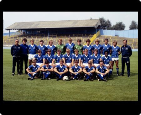 Millwall team group: (back row, l-r) assistant manager Theo Foley, ', Alan McLeary, Paul Robinson, Dean White, Peter Wells, David Cusack, Paul Sansome, Micky Nutton, David Martin, Carl Cowley, Paul Roberts, manager George Graham; (middle row