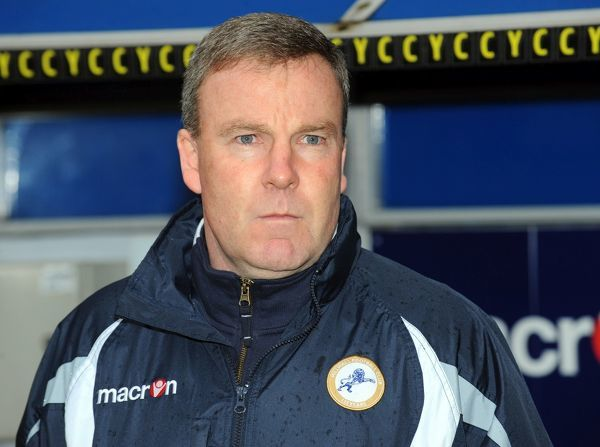 Millwall's Manager Kenny Jacket