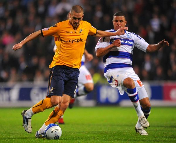 Queen's Park Rangers' Kyle Walker and Millwall's Steve Morison