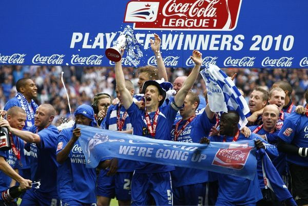 Soccer - Coca-Cola Football League One - Play Off - Final - Millwall v Swindon Town - Wembley Stadium