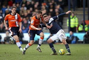 FA Cup - Fifth Round - Luton Town v Millwall - Kenilworth Road