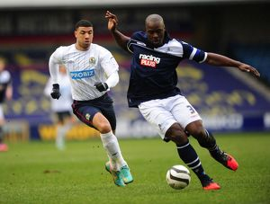 <b>FA Cup : Quarter Final : Millwall v Blackburn Rovers : The Den : 10-03-2013</b><br>Selection of 2 items