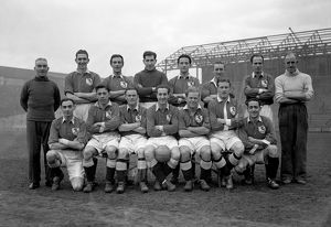 League Division Two - Millwall Photocall - The Den - 23 December 1947