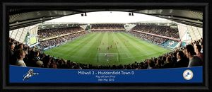 Millwall FC Play-Off Semi Final 2010 Framed Panoramic Print