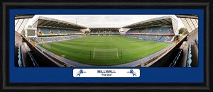 Millwall FC Empty Stadium Framed Panoramic Print