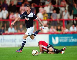 <b>Pre-Season Friendly : Brentford v Millwall : Griffin Park : 16-07-2013</b><br>Selection of 9 items