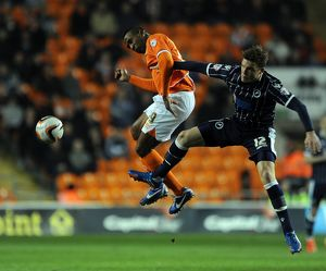 <b>Sky Bet Championship : Blackpool v Millwall : Bloomfield Road : 11-03-2014</b><br>Selection of 2 items