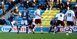 <b>Sky Bet Championship : Millwall v Burnley : The New Den : 02-11-2013</b><br>Selection of 4 items