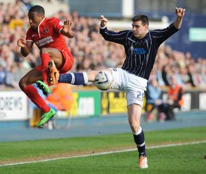 <b>Sky Bet Championship : Millwall v Charlton Athletic : The Den : 15-03-2014</b><br>Selection of 2 items