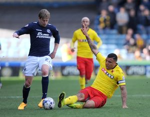 Sky Bet Championship - Millwall v Watford - The New Den
