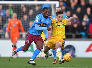 Sky Bet League One - Scunthorpe United v Millwall - Glanford Park