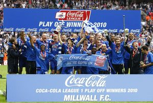 Soccer - Coca-Cola Football League One - Play Off - Final - Millwall v Swindon Town